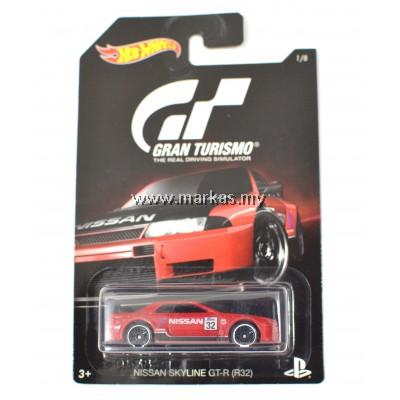 HOTWHEELS GRAND TURISMO NISSAN SKYLINE GT-R (R32)