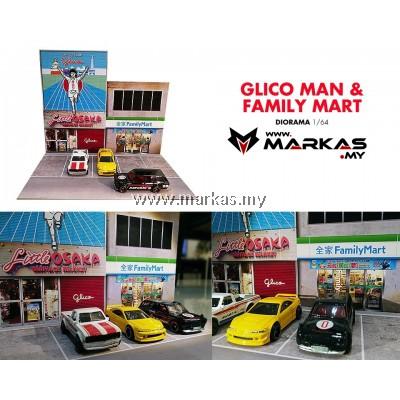 DIORAMA 1/64 - GLICO MAN & FAMILY MART