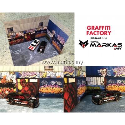 DIORAMA 1/64 - GRAFFITI FACTORY