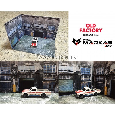 DIORAMA 1/64 - OLD FACTORY