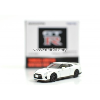 TOMICA LIMITED VINTAGE NEO LV-N148C NISSAN GTR PREMIUM EDITION 2017 MODEL (WHITE)