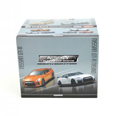 KYOSHO -NISSAN 1/64 SCALE MINICAR COLLECTION NISSAN GT-R & NISSAN GT-R NISMO
