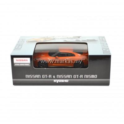 KYOSHO -NISSAN 1/64 SCALE MINICAR COLLECTION NISSAN GT-R ORANGE