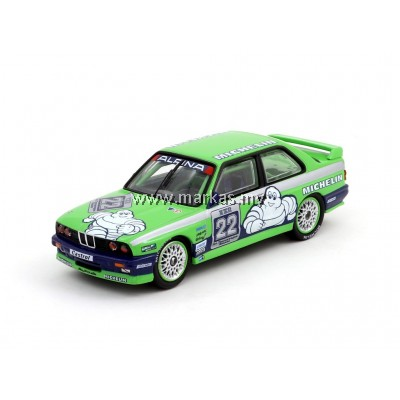 TARMAC WORKS 1/64 BMW M3 E30 - DTM 1988 TEAM ALPINA