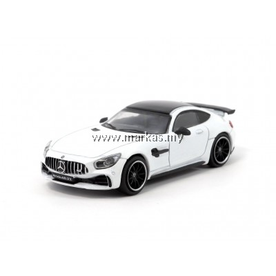 TARMAC WORKS MERCEDES AMG GT R - DESIGNO DIAMOND WHITE