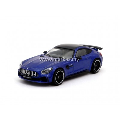 TARMAC WORKS MERCEDES AMG GT R - BRILLIANT BLUE METALIC