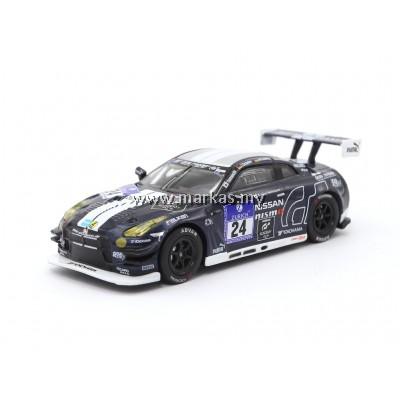 TARMAC WORKS 1/64 NISSAN GT-R NISMO GT3 NURBURGRING 24H 2014 #24