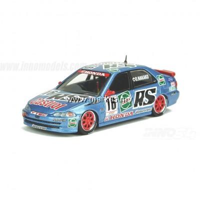 INNO-MODELS INNO64 1/64 HONDA CIVIC FERIO Gr.A#16 CASTROL MUGEN -JTCC 1994