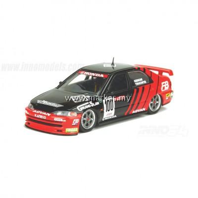 INNO-MODELS INNO64 1/64 HONDA CIVIC FERIO Gr.A#100 ADVAN - JTCC 1995