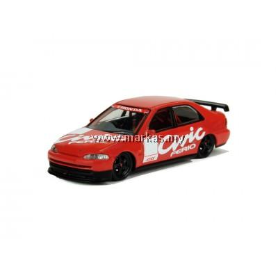 INNO MODELS INNO64 1/64 HONDA CIVIC FERIO JTCC TEST CAR 1995