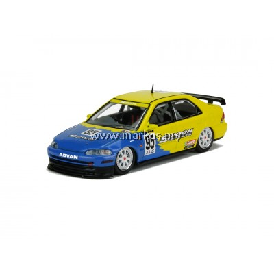 "INNO MODELS INNO64 1/64 HONDA CIVIC FERIO #95 ""SPOON"" MACAU GUIA RACE 1995"