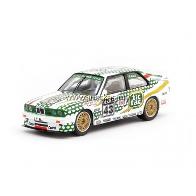 TARMAC WORKS 1/64 BMW M3 E30 DTM 1991 ALLEN BERG - SINGAPORE EXCLUSIVE MODEL