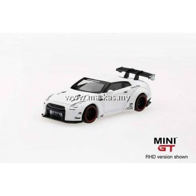 MINI GT 1/64 LB WORKS NISSAN GTR R35 REAR WING VER 1 MATTE WHITE
