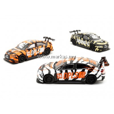 TARMAC WORKS X DEEPLIFESTYLE 1/64 AUDI RS3 TIGER SET