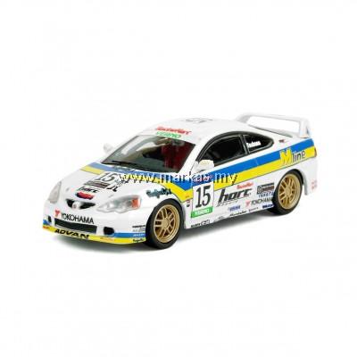 "INNO MODELS INNO64 1/64 HONDA INTEGRA TYPE-R DC5 #15 ""M LINE""  VERNO JAPAN ONE MAKE RACE 2002"