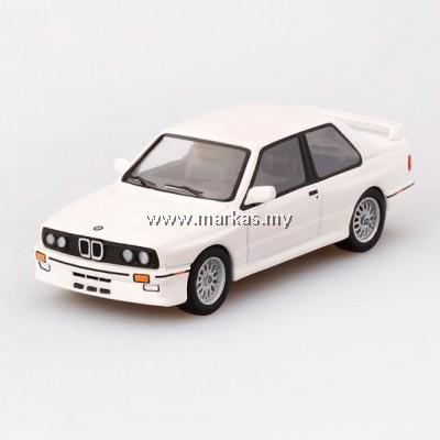 (PO) MINI GT 1/64 BMW M3 (E30) ALPINE WHITE (RHD)