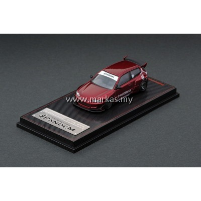 IGNITION MODEL 1/64 PANDEM EG6 RED METALLIC EXCLUSIVE