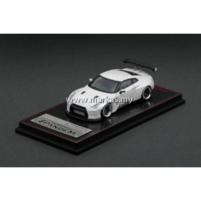 IGNITION MODEL 1/64 PANDEM R35 GT-R WHITE