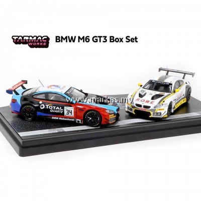 TARMAC WORKS 1/64 BMW M6 GT3 BOX SET * HONG KONG EXCLUSIVE MODEL