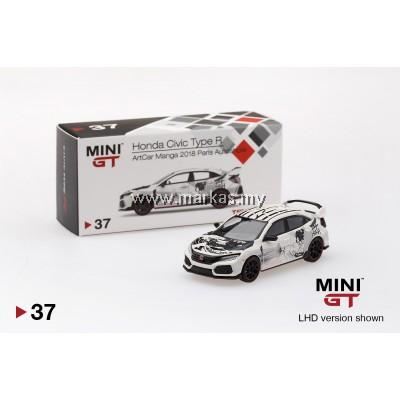 MINI GT 1/64 #37 HONDA CIVIC TYPE R (FK8) ARTCAR MANGA 2018 PARIS AUTOSHOW (LHD)