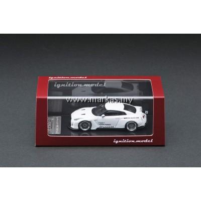 (PO) IGNITION MODEL 1/64 PANDEM R35 GT-R WHITE