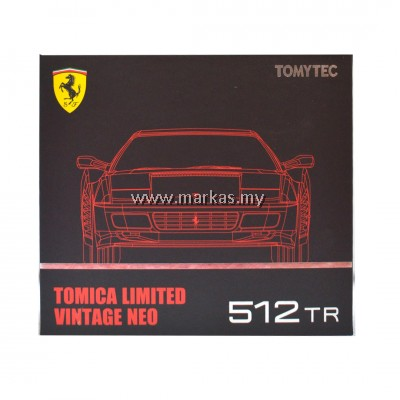 TOMICA LIMITED VINTAGE 1/64 FERRARI 512 TR (RED)