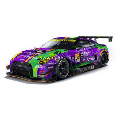 (PO) MINI GT X POP RACE 1/64 HK EXCLUSIVE EVA RT TEST TYPE-01 X WORKS GTR #33 SUPER GT300 2019