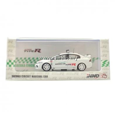 INNO MODELS INNO64 1/64 HONDA CIVIC TYPE-R FD2 SUZUKA CIRCUIT MARSHAL CAR