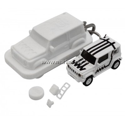 (PO) ERA CAR X 4A 1/64 SUZUKI JIMNY SIERRA WHITE BOX -WHITE MATTE BLACK