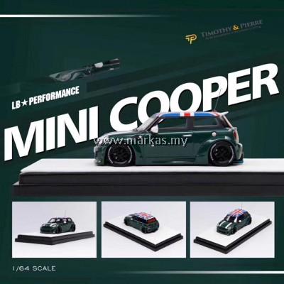 (PO) TIMOTHY & PIERRE 1/64 LB☆WORKS MINI COOPER BRITISH GREEN