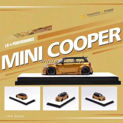 (PO) TIMOTHY & PIERRE 1/64 LB☆WORKS MINI COOPER GOLD