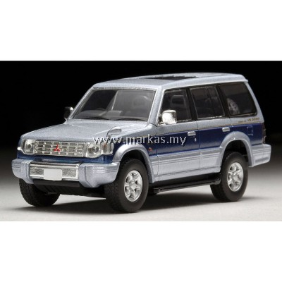 TOMICA LIMITED VINTAGE LV-N189B MITSUBISHI PAJERO SUPER EXCEED Z (SILVER/BLUE)