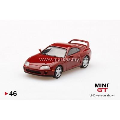MINI GT 1/64 #46 TOYOTA SUPRA RENAISSANCE RED (RHD)