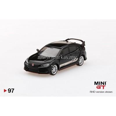 (PO) MINI GT 1/64 #97 HONDA CIVIC TYPE R (FK8) HKS BLACK