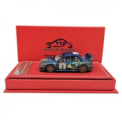 (PO) VIP MODELS 1/64 SUBARU WRC 22B (RALLY MUD)