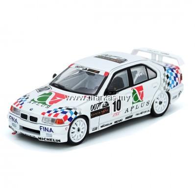 (PO) INNO MODELS INNO64 1/64 BMW E36 318i #10 JAPAN TOURING CAR CHAMPIONSHIP 1994 TEAM SCHNITZER -STEVE SOPER