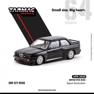 (PO) TARMAC WORKS 1/64 BMW M3 E30 SPORTS EVOLUTION