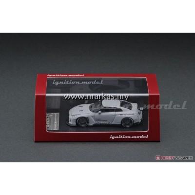 IGNITION MODEL 1/64 (JAPAN LIMITED) PANDEM R35 GT-R MATTE GRAY