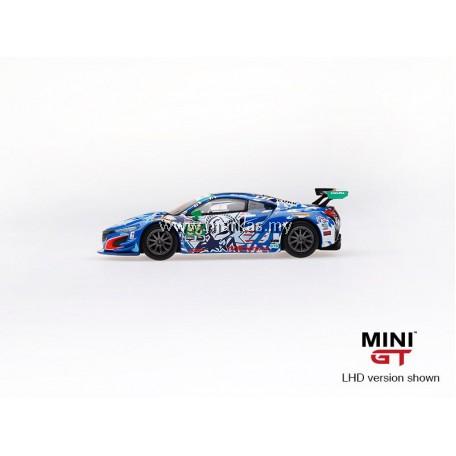 """MINI GT 1/64 #72 ACURA NSX GT3 #93 2017 IMSA WATKINS GLEN """"STATUE OF LIBERTY"""" (RHD)"""