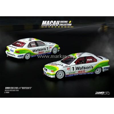 """INNO MODELS INNO64 1/64 BMW E36 318I #1 """"WATSON'S"""""""