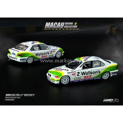 """INNO MODELS INNO64 1/64 BMW E36 318I #2 """"WATSON'S"""""""